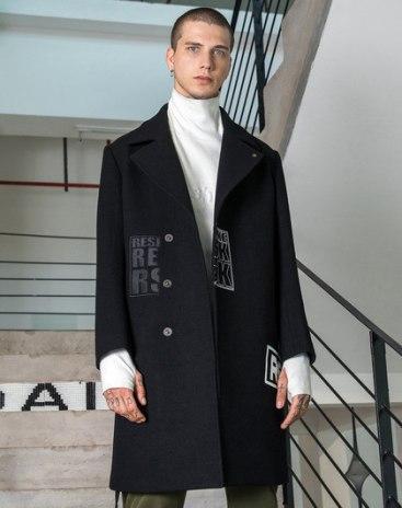 Lapel Loose Men's Outerwear
