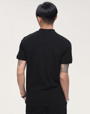 Print Lapel Short Sleeve Standard Men's Polo