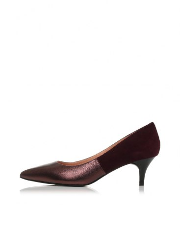Pointed Middle Heel Women's Close Toe Shoes