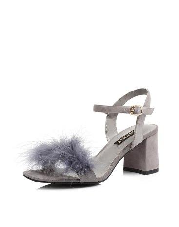 Gray Women's Sandals