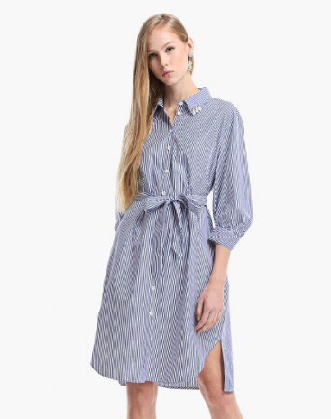 Blue Others Standard Women's Dress
