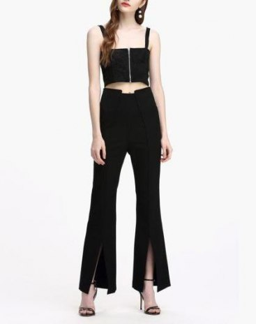 Black Others Women's  Pants