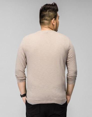 Round Neck Long Sleeve Standard Men's T-Shirt