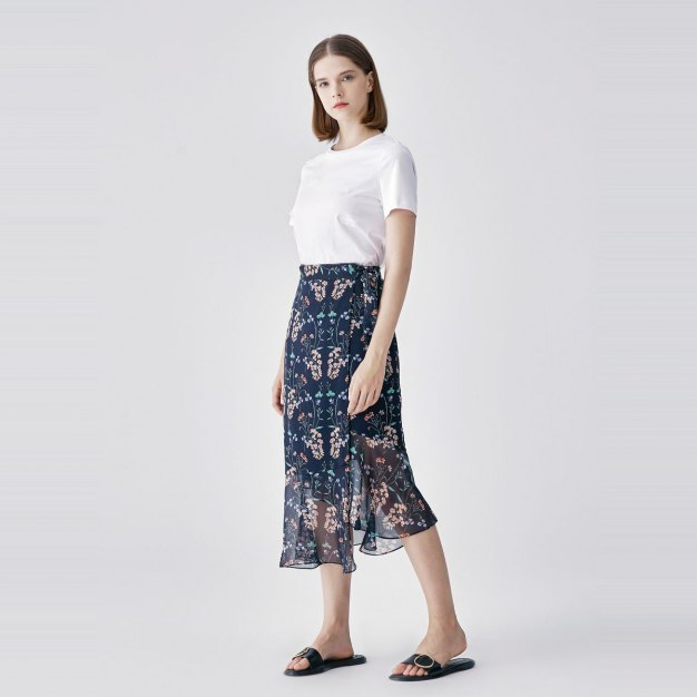 Women's Asymmetric Skirt