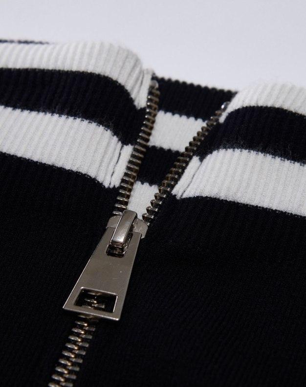 Black 3/4 Length Women's Bodycon Skirt