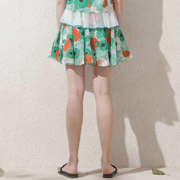 White Women's A Line Skirt