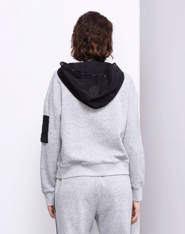 Plain Long Sleeve Loose Women's Sweatshirt