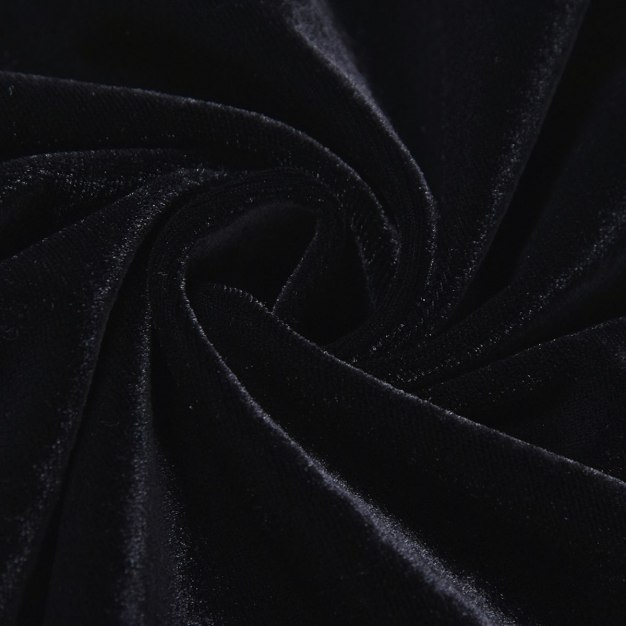 Black Polyester Light Elastic Camisoles