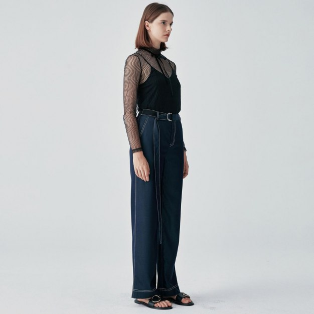 Black Long Women's Pants