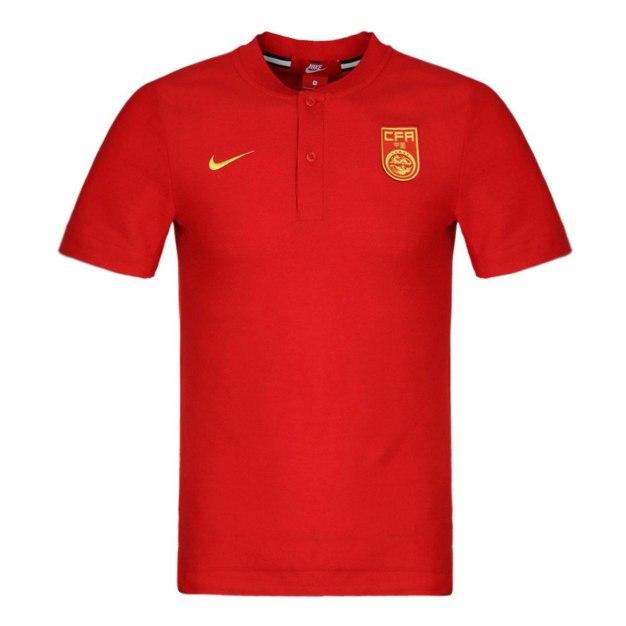 Red Standard Short Sleeve Men's Polo