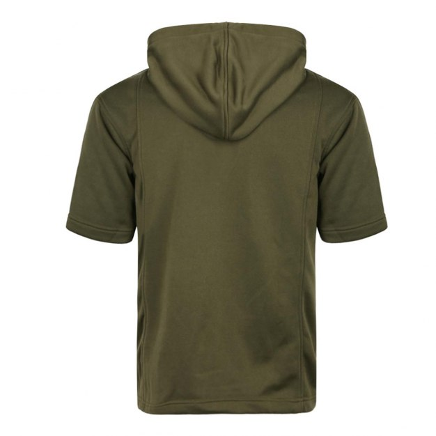 Green Short Sleeve Standard Round Neck Men's T-Shirt
