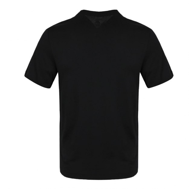 Black Short Sleeve Standard Round Neck Men's T-Shirt
