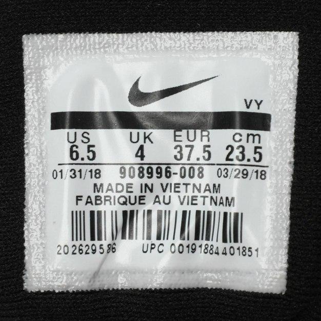 Black Portable Running Women's Sneakers