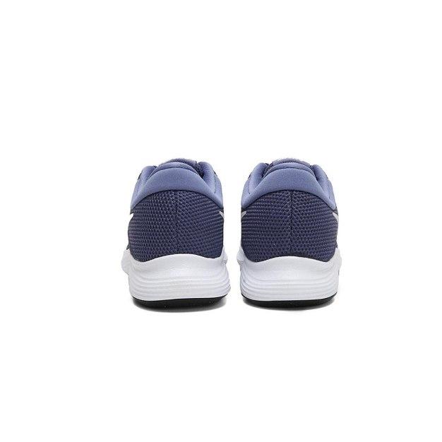 나이키 우먼스 레볼루션 4 런닝화 블루/퓨어 플래티넘 908999-401