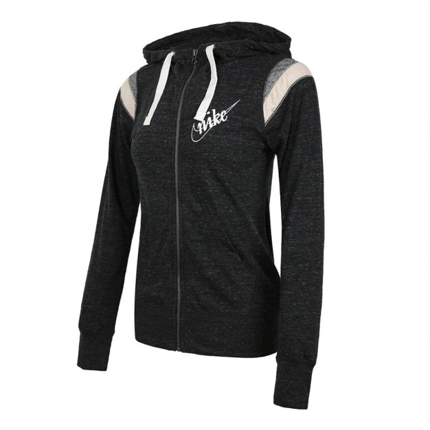 Black Long Sleeve Windbreak Standard Women's Jacket