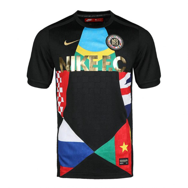블랙 반팔 표준 남성 티셔츠